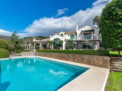 Photo for 6 bedroom Villa, sleeps 10 with Pool, Air Con and FREE WiFi