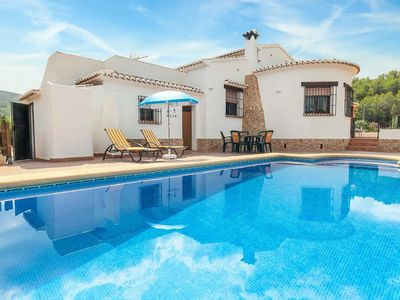 Photo for 3 bedroom Villa, sleeps 6 in Lliber with Pool, Air Con and WiFi