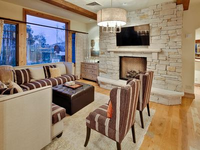 Photo for Ski-in, ski-out Empire Pass condo — stunning views, shared hot tub, complimentary shuttle service