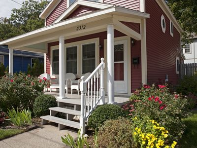 Photo for Charming RedBird Cottage- On A Back Dune, Walk To The Beach