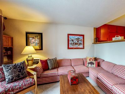 Photo for Ski-in/ski-out condo at the base of Dollar Mtn w/ shared pool and hot tub!