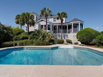 Photo for 'The Bauer at Sullivan's Island' Oceanfront, Private Pool, Rare Find!