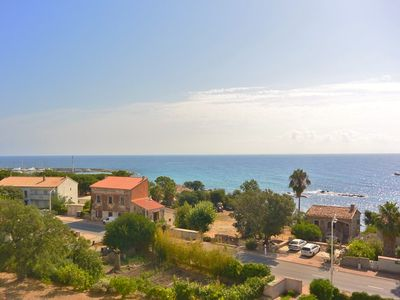 Photo for Myrte Apartment - Beachfront - Sea View