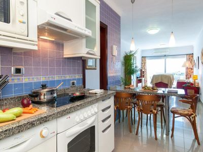 Photo for Apartment Beach front Apartment in MOGAN MB in Mogan - 4 persons, 2 bedrooms