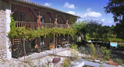 Photo for CHARMING GITE IN THE VINES WITH LARGE PRIVATE POOL