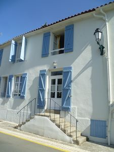 Photo for Charming old house, village center, 7km from the beaches, 3 bedrooms8 sleeps
