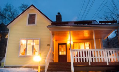 Photo for Kelly's Place: Cozy home is two blocks from Main St and one block from Town Lift