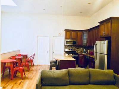 Photo for Large 4 bedroom 1 bathroom Apt Close to Express Subway