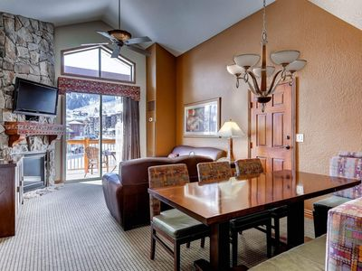 Photo for FREE SKI RENTAL! Ski-In/ Ski-Out Penthouse w Mountain Views, Private Patio & Full Resort Amenities!