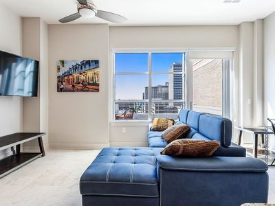 Photo for Luxury 2bd Penthouse w private Terrace near French Quarter
