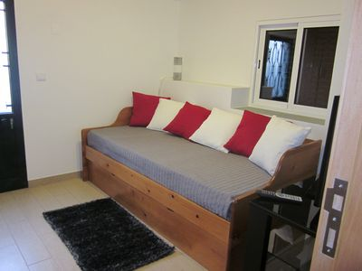Bed with drawer bed in bedroom 2 in Apt.(A)