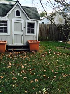 playhouse as storage shed