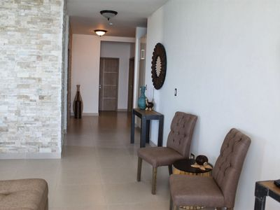 Photo for Beachfront 5 Bedroom Apartment In The Exclusive Santa Clara Residences