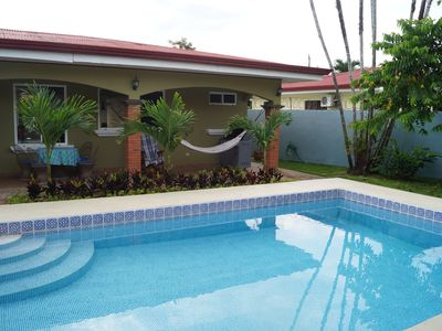Photo for Private Beach House with Pool