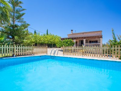 Photo for SON MIERES - Villa with private pool in Petra.