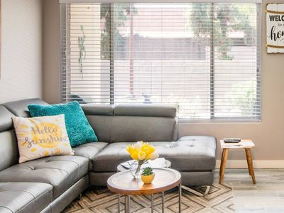 Photo for Walk to Scottsdale Restaurants from a Homey Modern Condo