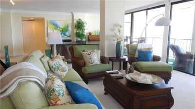 Photo for PRICE DROP!  Super Size your Vacation! Oversized 3 bed/ 3 bath Oceanfront Condo!
