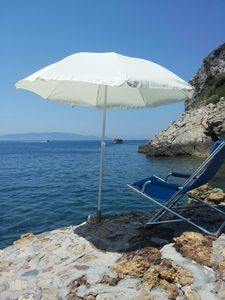 Photo for Lovely summer house with free access to beach and swimming pool