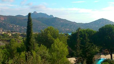 Photo for Your holidays in a comfortable studio sea view, 500 m from the beaches