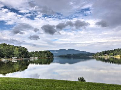 Photo for NEW! Hiawassee Home w/ Indoor Pool & Private Dock!