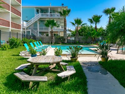 Photo for 1BR Seabreeze Suites Condo, Pool, Walk to Port Aransas Beaches & Restaurants