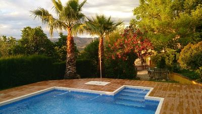 Photo for Gilmañas wooden bungalows for 2 people