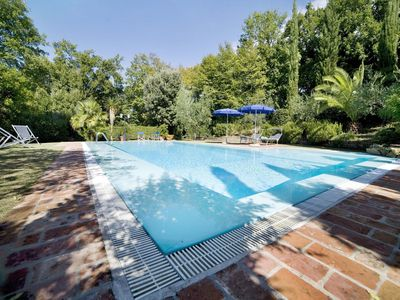 Photo for Wonderful private villa with A/C, private pool, WIFI, TV, patio, pets allowed and parking
