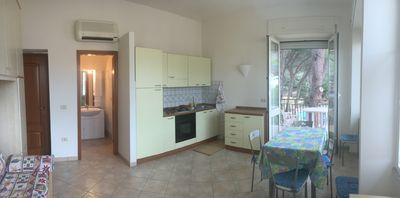 Photo for Villa Emilia - one-room apartment with balcony overlooking the garden with pine trees. Studio apartment