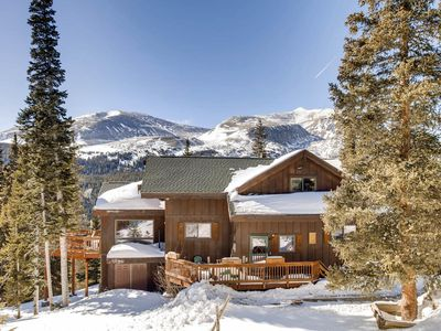 """Photo for """"Chalet L'Etoile"""" - House Under the Stars - 6 Bedroom/4 Baths/Hot Tub/ Breath-Taking Views"""