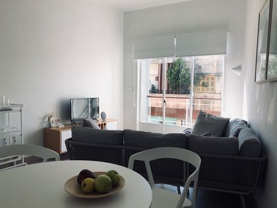 Photo for Light & Bright, Newly Renovated European Apartment