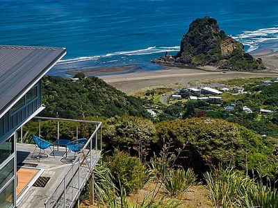Photo for Lion Rock Lookout - Piha Holiday Home
