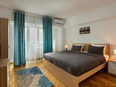 Photo for Palace of the Parliament*near  Old City Center* Unirii Square 2 Bedrooms 120 m2