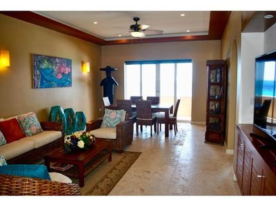 Photo for Two Bedroom Villa Ocean View Pool Isla Mujeres