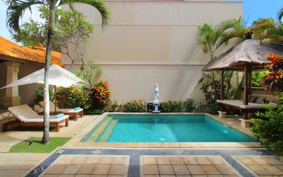 Photo for Spacious 2 bedroom villa private pool