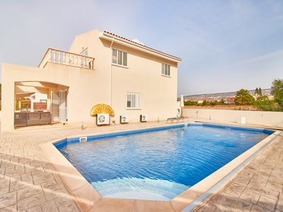Photo for Coral Bay 4 Bed Villa - 5 Minutes Walk to Blue Flag Sandy Beaches - Heated Pool