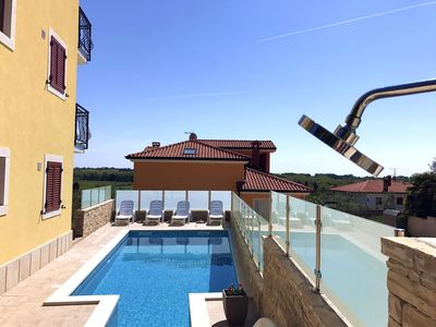 Photo for Apartment 5 in the villa in Savudrija with garden pool barbecue parking