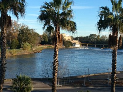 Photo for Apartment 4 pers. in the center of AGDE facing the Hérault