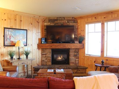 Photo for Deer Valley Ski Lift is just steps away - ski & relax in Euro Lux Condo/Hot Tub