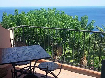 Photo for Belvedere apartment in Sant'Alessio Siculo with balcony.