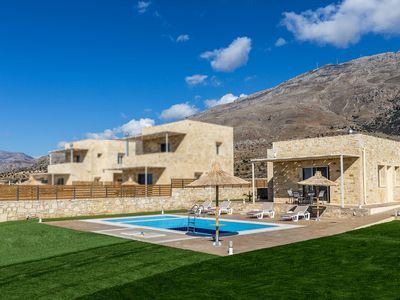Photo for Breathtaking sea views,4 persons,Private pool, Kids Pool, Near beach and taverns