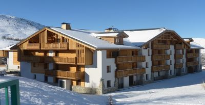 Photo for very nice apartment on the top floor of a chalet residence ski in ski out