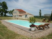 Beautiful gite in peaceful location with great views.