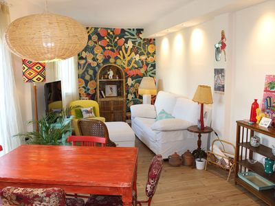 Photo for Very cute apartment, 2 bedrooms, PARKING