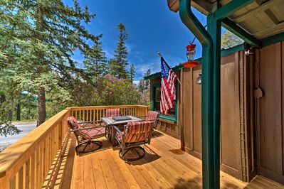 Embark on adventures when you stay at this 2-bed, 1-bath Cloudcroft home.