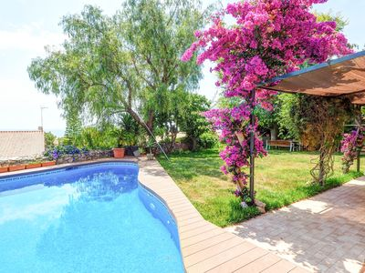 Photo for Sitges holiday with the best sea views, 6 bedrooms and private pool and garden