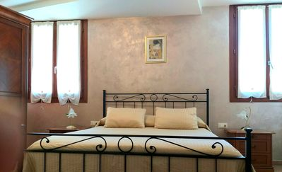 Photo for BIENNALE APARTMENT CANAL VIEW NEAR ST. MARK SQUARE FREE WIFI + NETFLIX