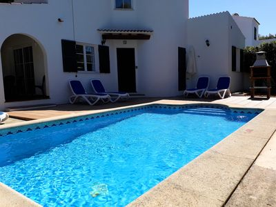 Photo for Villa with private pool and air conditioning, located at 150 meters of the beach
