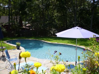 Photo for Charming 3 Bedroom house with gunite salt swimming pool in the Springs