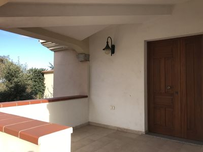 Photo for Holiday house with sea view, beautiful terrace, 800 m beach Posada