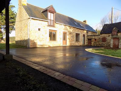 Photo for Delightful detached newly-renovated stone house; rural location with games room
